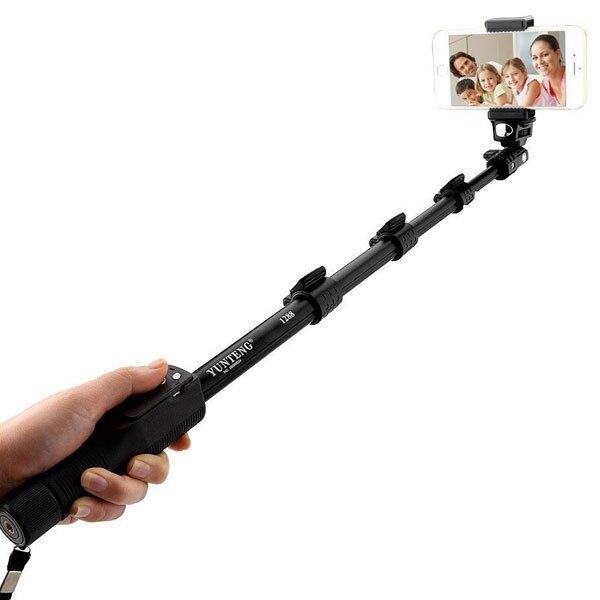 【YT-1288】雲騰 手機/相機/單眼 三角架自拍棒/手機 相機架/自拍腳架/攝影多用途三腳架/自拍神器/附遙控器拍照/直播視頻支架/便攜拍攝架-ZW