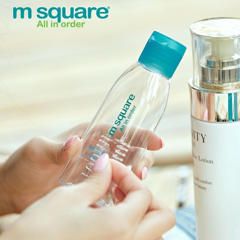 旅行美學護膚化妝品分裝瓶旅行套裝洗發水沐浴露噴霧瓶按壓空瓶1入