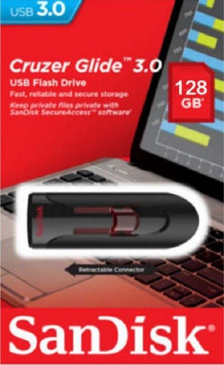 SanDisk 128GB 128G Cruzer Glide【SDCZ600-128G】SD CZ600 USB 3.0 高速隨身碟