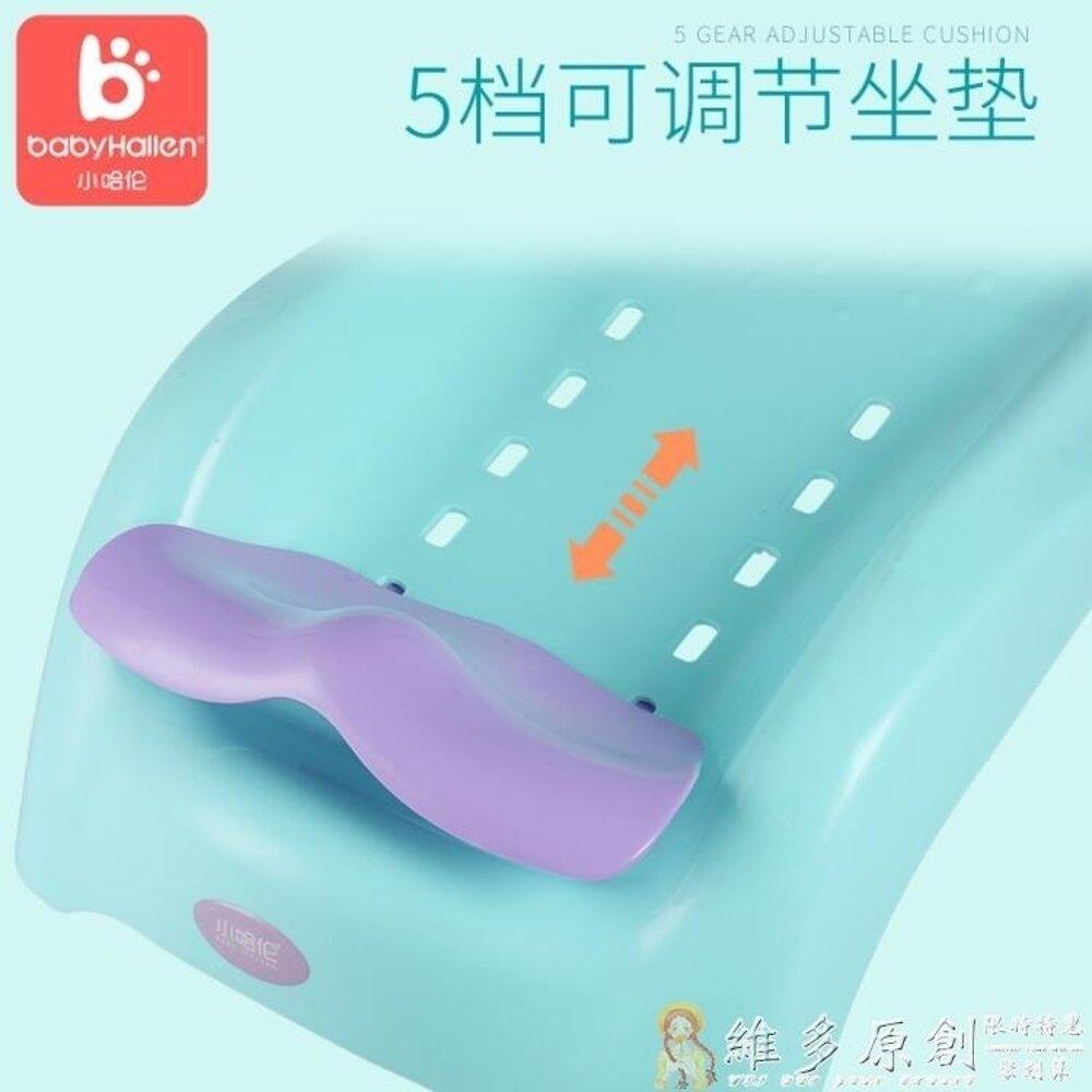 洗頭椅 兒童可摺疊躺椅寶寶洗頭椅小孩洗頭床加大號嬰兒洗發架浴床浴盆DF  免運 維多