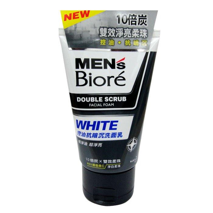 花王 蜜妮MEN's Biore 男性專用 控油抗暗沉 洗面乳 100g【康鄰超市】