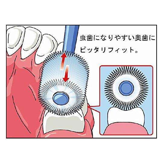小禮堂 角落生物 日製螺旋握柄兒童牙刷《2款隨機.綠/白》口腔清潔.盥洗用品