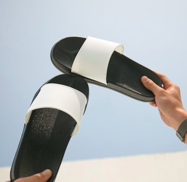 BIRDYEDGE MD K 拖鞋 厚底涼鞋 厚底拖鞋 增高拖鞋 拖鞋 涼鞋 黑 白 兩色 男女