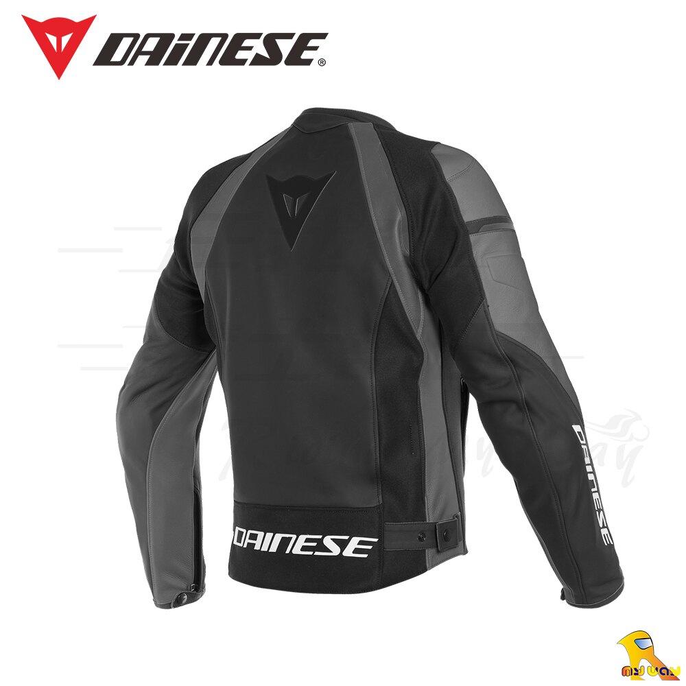 ~任我行騎士部品~ 2019 Dainese Nexus Leather Jacket 黑灰 皮衣 防摔衣 丹尼斯