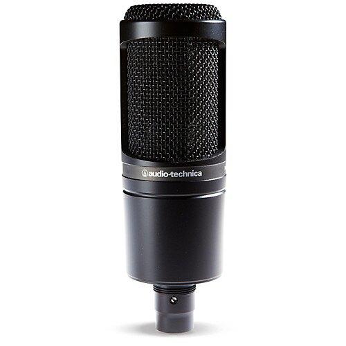 志達電子 AT2020 日本鐵三角 Audio-Technica XLR專業靜電型電容式麥克風 [台灣鐵三角公司貨]