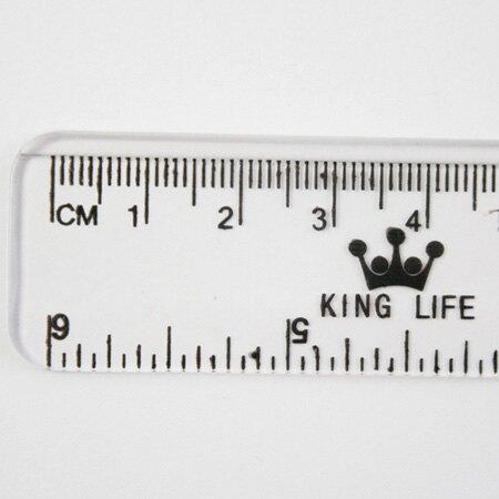 徠福 LIFE KR-15 塑膠直尺 (15公分)