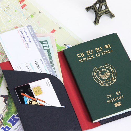 【FENICE】證件護照套(小)-灰