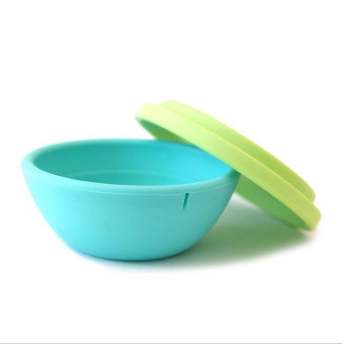 美國 GoSili 果凍餐具-兩件式矽膠碗8oz(約236cc)