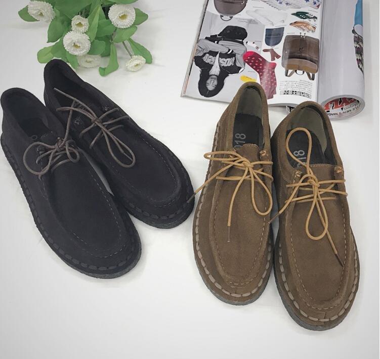 FINDSENSE Z1 日系 時尚 街頭 潮 男 復古 英倫小皮鞋 低幫 運動休閒鞋 板鞋