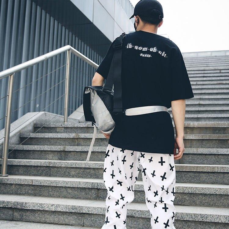 【5折超值價】經典潮流美式街頭拼色風格造型旅行休閒側背包