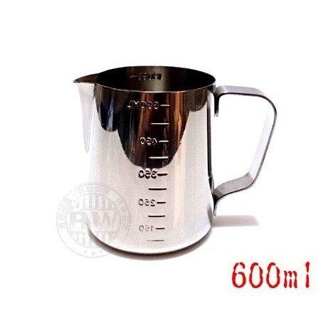 Pearl Horse寶馬牌二合一刻度拉花杯+刻度測量杯【單入】㊣18-8不鏽鋼杯 烘焙 手工皂