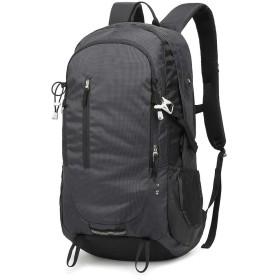 軽量ノートパソコンのバックパック、大学、学校やビジネスジョブズ旅行に適したメンズと女性のラップトップリュックサック、特大防水ダッフルバッグナップザック、 (Color : ブラック)