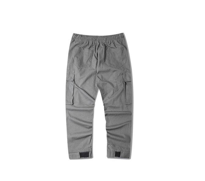 FINDSENSE H1夏季 日本 男  嘻哈 個性 多口袋 工裝褲 運動 直筒長褲 寬鬆百搭  休閒褲  潮男褲子