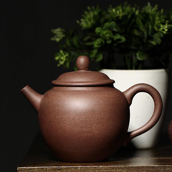 陳腐多年老紫泥 宜興紫砂壺杯正品特價茶壺 全手工玉立約220cc