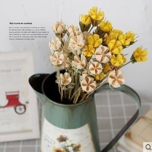 客廳十字果真幹花束藝術裝飾擺件FA06004『時尚玩家』