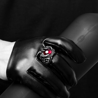 鈦鋼戒指爪子美式戒飾-歐美復古酷炫霸氣生日情人節禮物男飾品73le69【獨家進口】【米蘭精品】