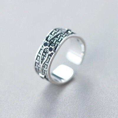 925純銀戒指開口戒-時尚個性寬面星星情人節生日禮物女飾品73dt808【獨家進口】【米蘭精品】