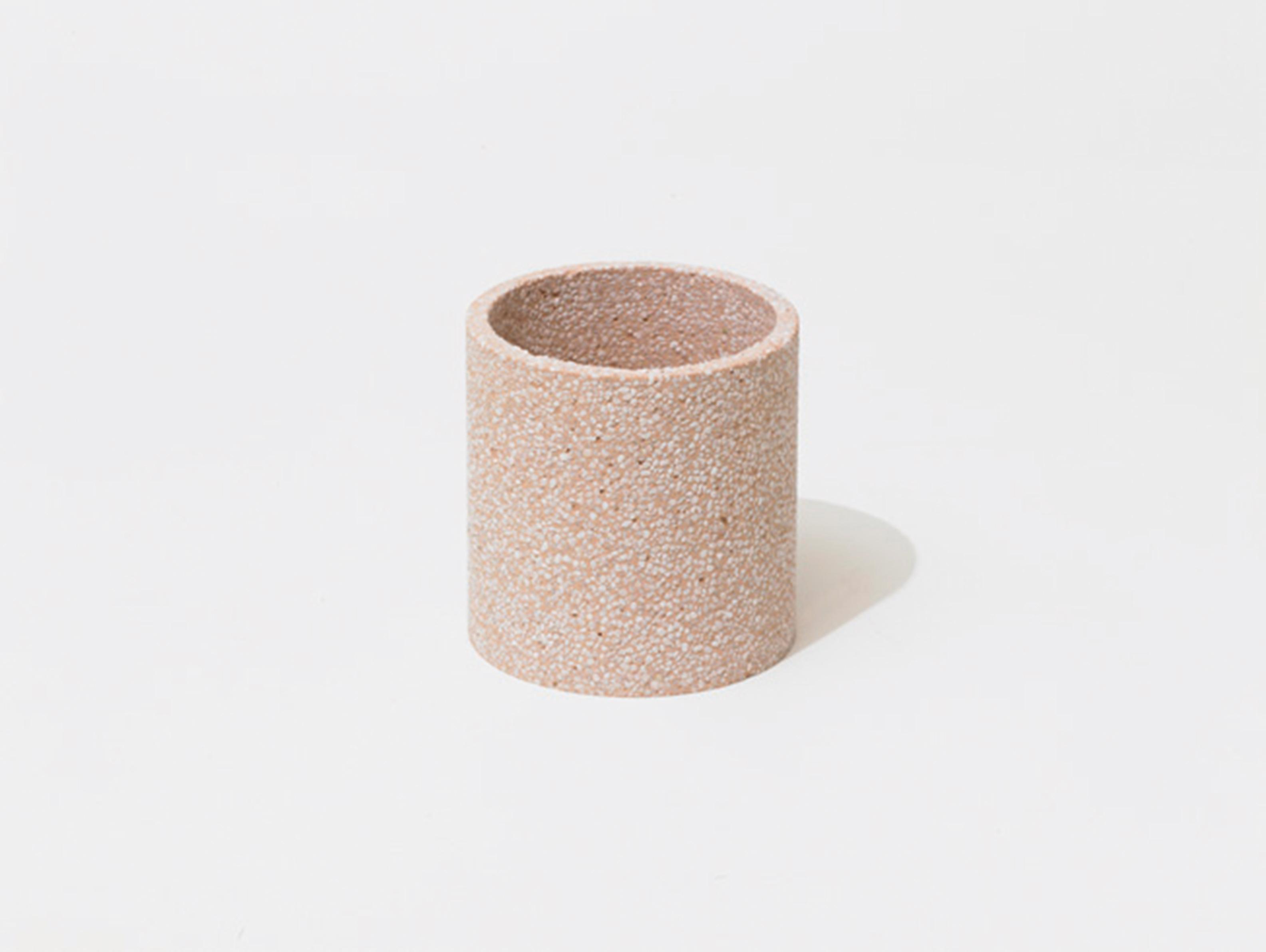 【Soil】日本超人氣 珪藻土 矽藻土 化妝收納桶  ( 白/粉/綠) 吸濕 除臭 清潔 除濕 聖品