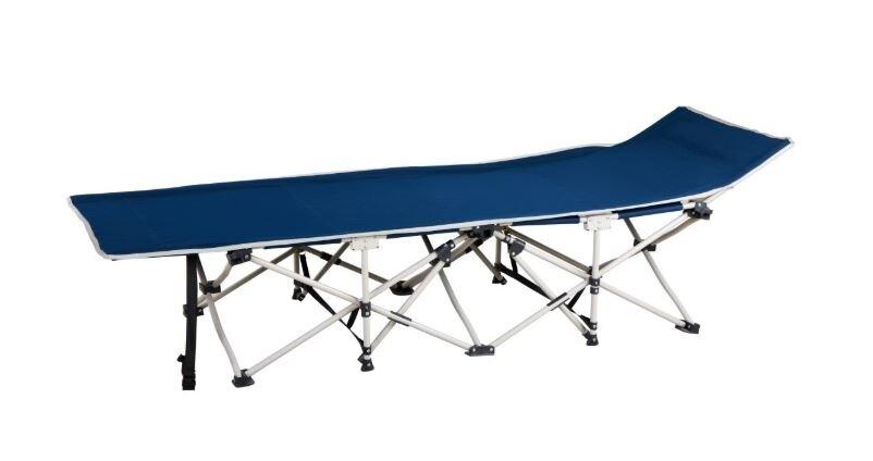 摺疊躺椅 附收納袋 折疊床 折合床 看護床 單人床 行軍床 行動床 收納躺椅 涼椅 午睡【S51】