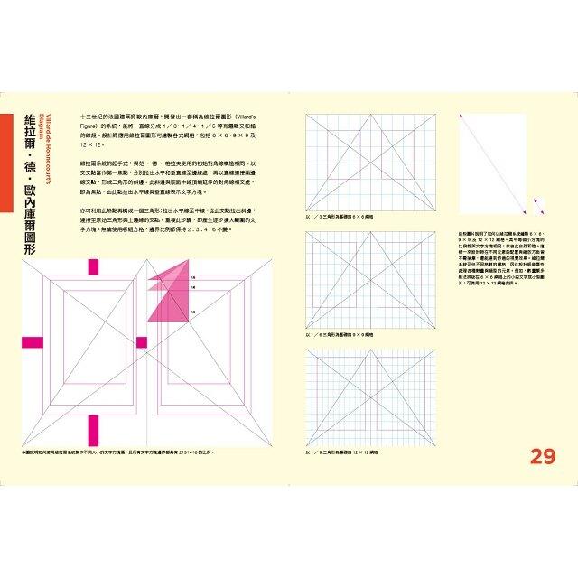 版型研究室:學會平面設計中難懂的數學題&美學邏輯,最基礎的版型理論