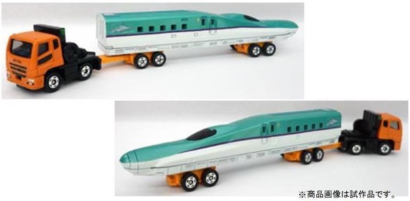 大賀屋 日貨 三菱 新幹線 Takara Tomy 多美 小汽車 汽車 火車 玩具車 玩具 正版 L00010731