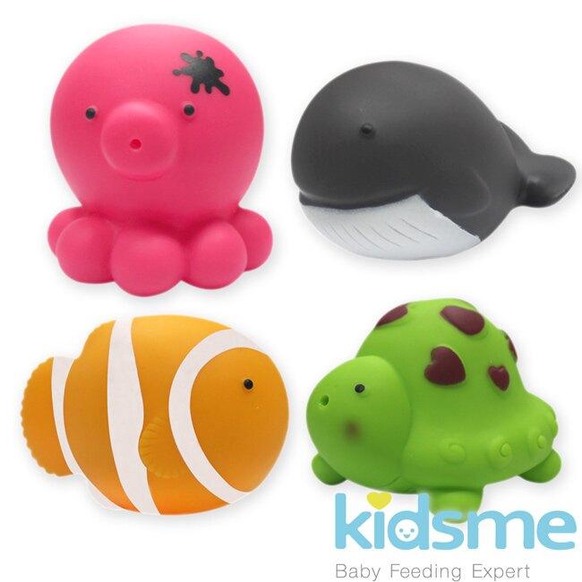 英國【kidsme】噴水玩具(海洋/莊園系列) 洗澡玩具-米菲寶貝