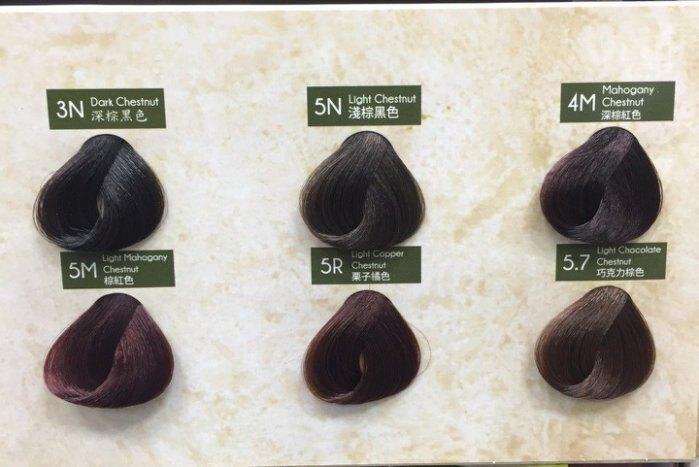 《小瓢蟲生機坊》洛特綠活染髮劑VitalStyl -染髮劑5M棕紅色(植物染)