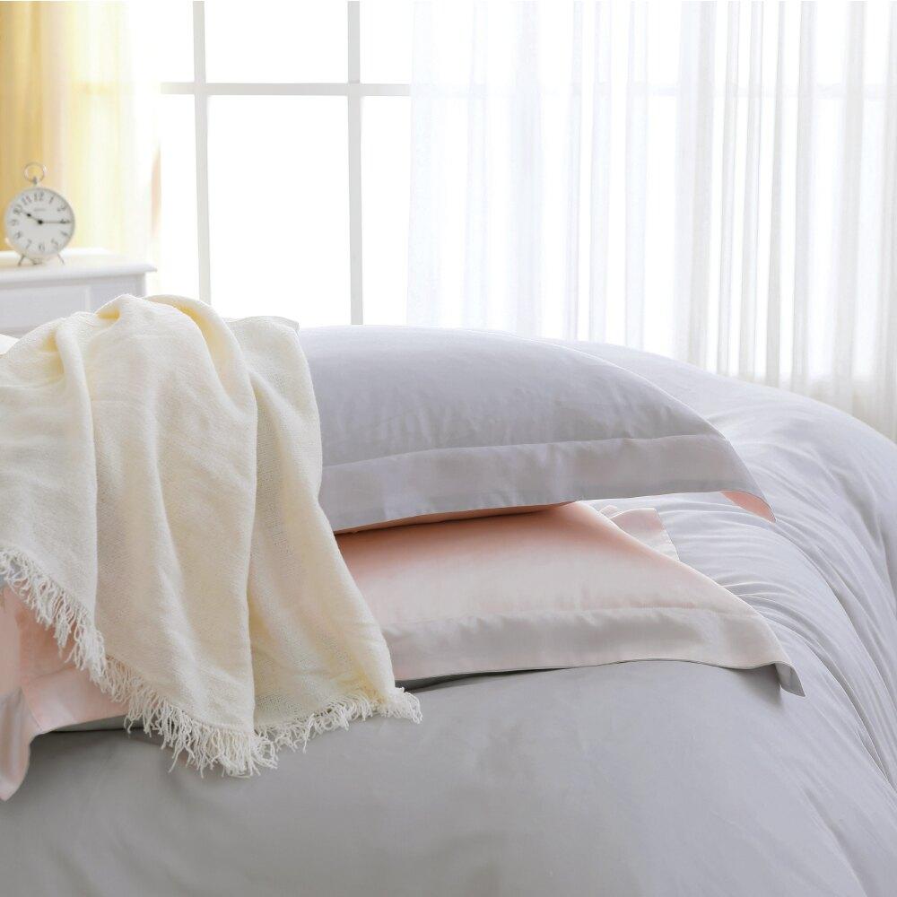 鴻宇 雙人加大床包組 天絲300織 克卜勒 素色 台灣製M2626