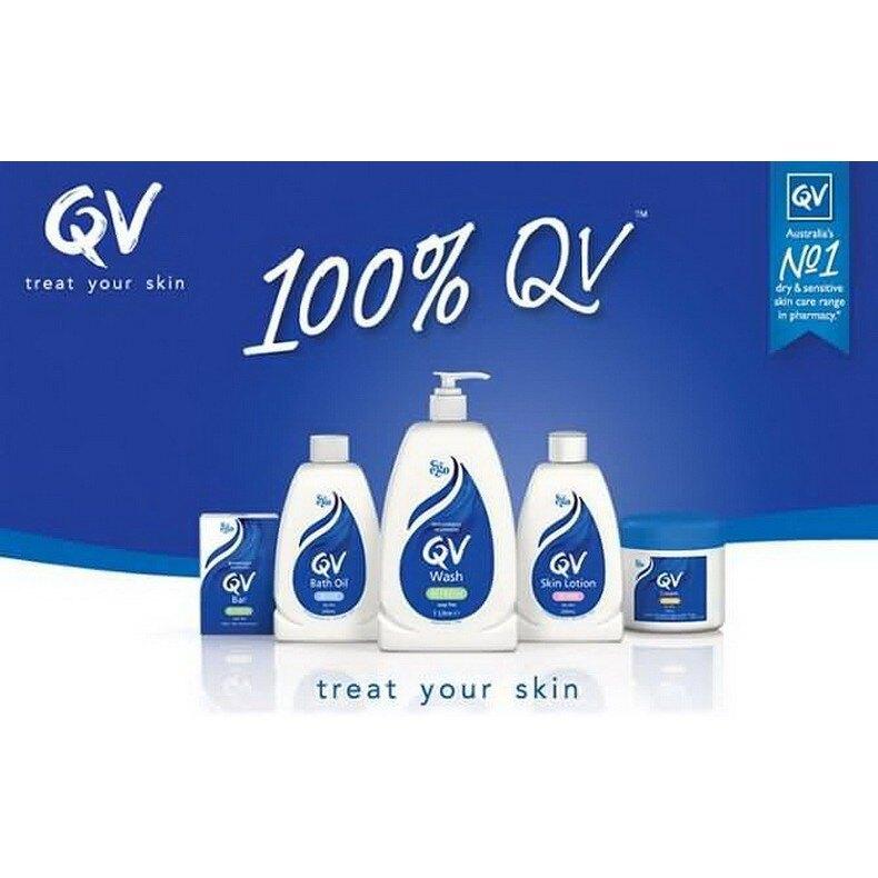QV意高 舒敏潔膚方塊100g