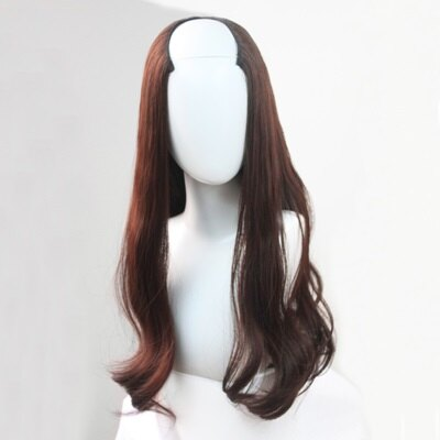 長假髮假髮片-U型半頭套長直髮微彎女假髮3色73rr24【獨家進口】【米蘭精品】