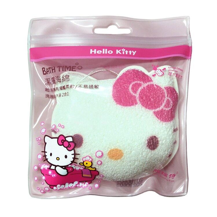 帕瑞詩Hello Kitty潔膚海綿1入