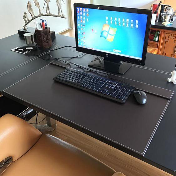 皮革書桌墊/大班商務臺墊寫字臺墊 滑鼠墊辦公桌墊板操作臺墊訂製