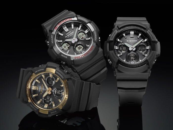 新年特惠4折起  CASIO G-SHOCK 競速太陽能運動腕錶/GAS-100B-1ADR 情人節寵愛禮