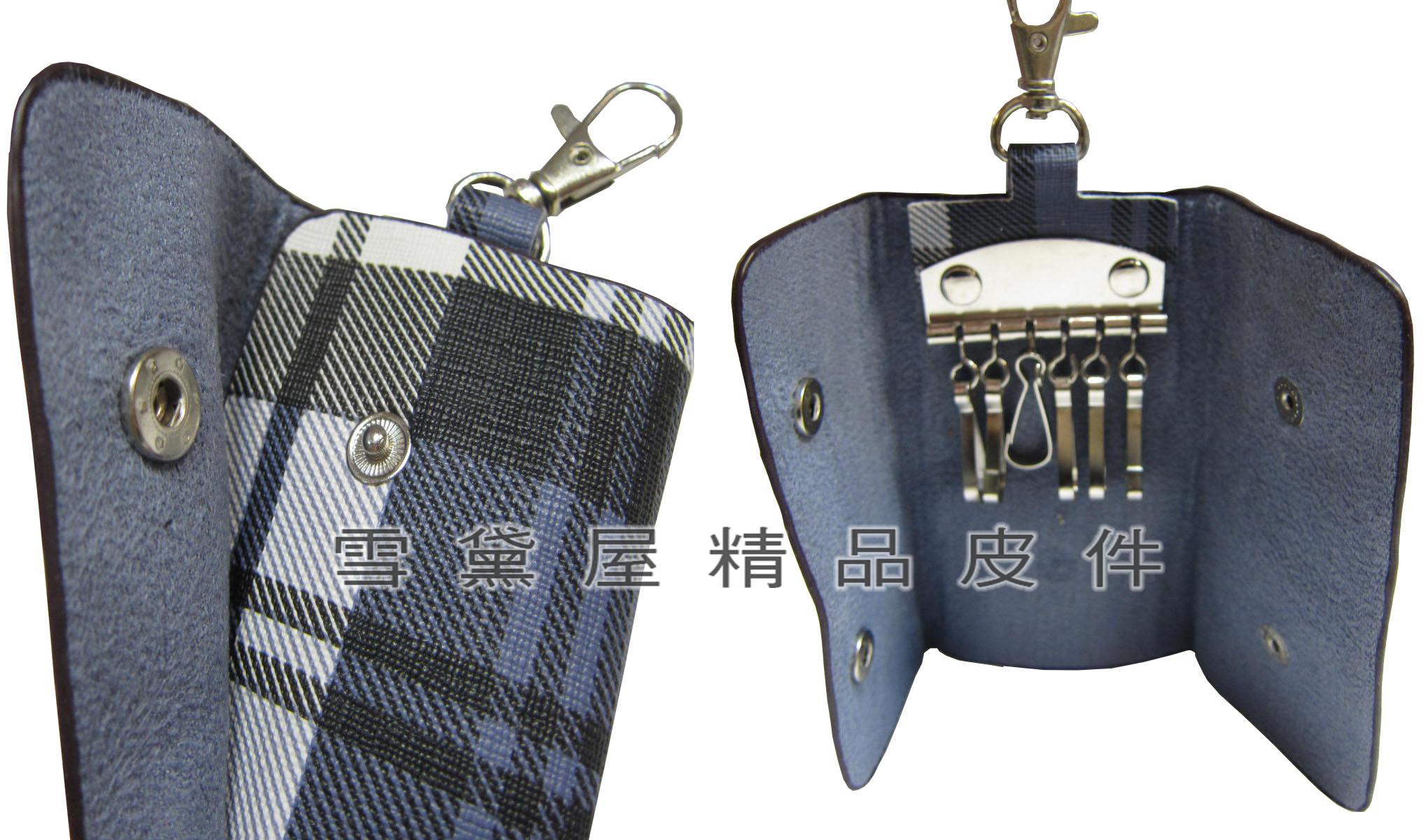 限時 滿3千賺10%點數↘ | ~雪黛屋~SANDIA-POLO 鑰匙包進口專櫃鑰匙包進口防水防刮皮革材質6支鑰匙容量簡易型好攜帶70-SA1301-1