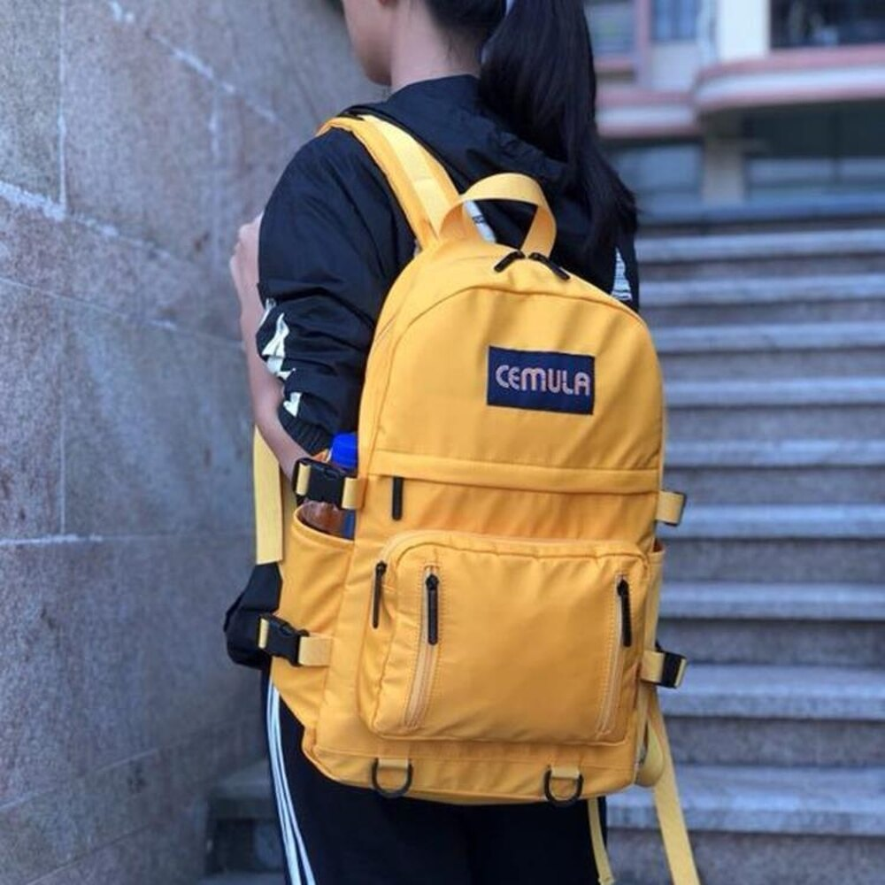後背包 雙肩包女2019新款韓版牛津布百搭時尚輕便大容量旅行背包帆布書包 曼慕衣櫃