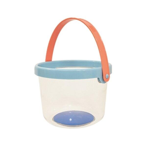 樂雅 透明水桶 天空藍/蘋果綠/香橙黃(三色可選)