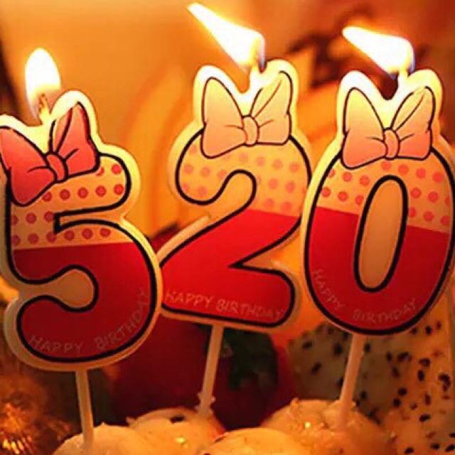 ★快速出貨★附發票~0-9數字蠟燭 生日蠟燭 蠟燭 numbercandle