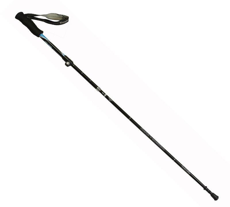 【H.Y SPORT】RHINO 犀牛 快扣3折登山健行杖 登山杖 #792 快扣式3折設計 輕巧易攜帶