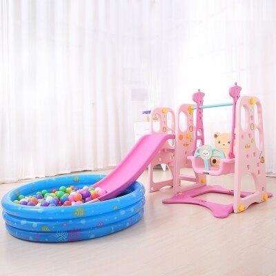 溜滑梯 兒童室內滑梯 家用多功能滑滑梯 寶寶組合滑梯 秋千 塑料玩具加厚 全館八五折