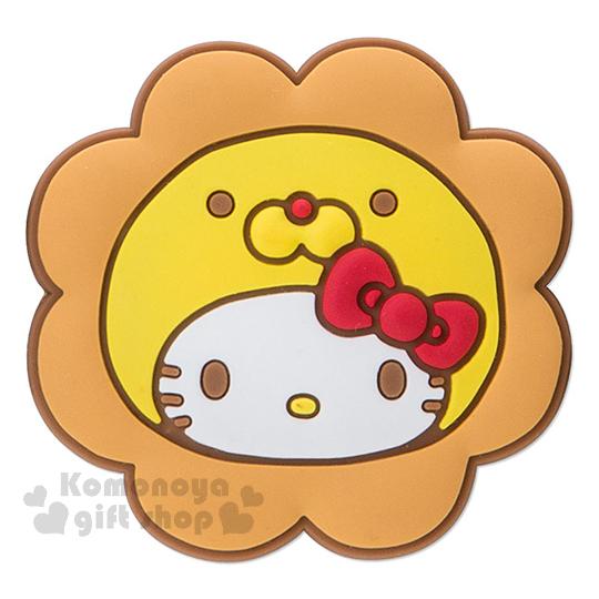 〔小禮堂〕Hello Kitty x mister Donut 造型夾子組《3入.大臉》