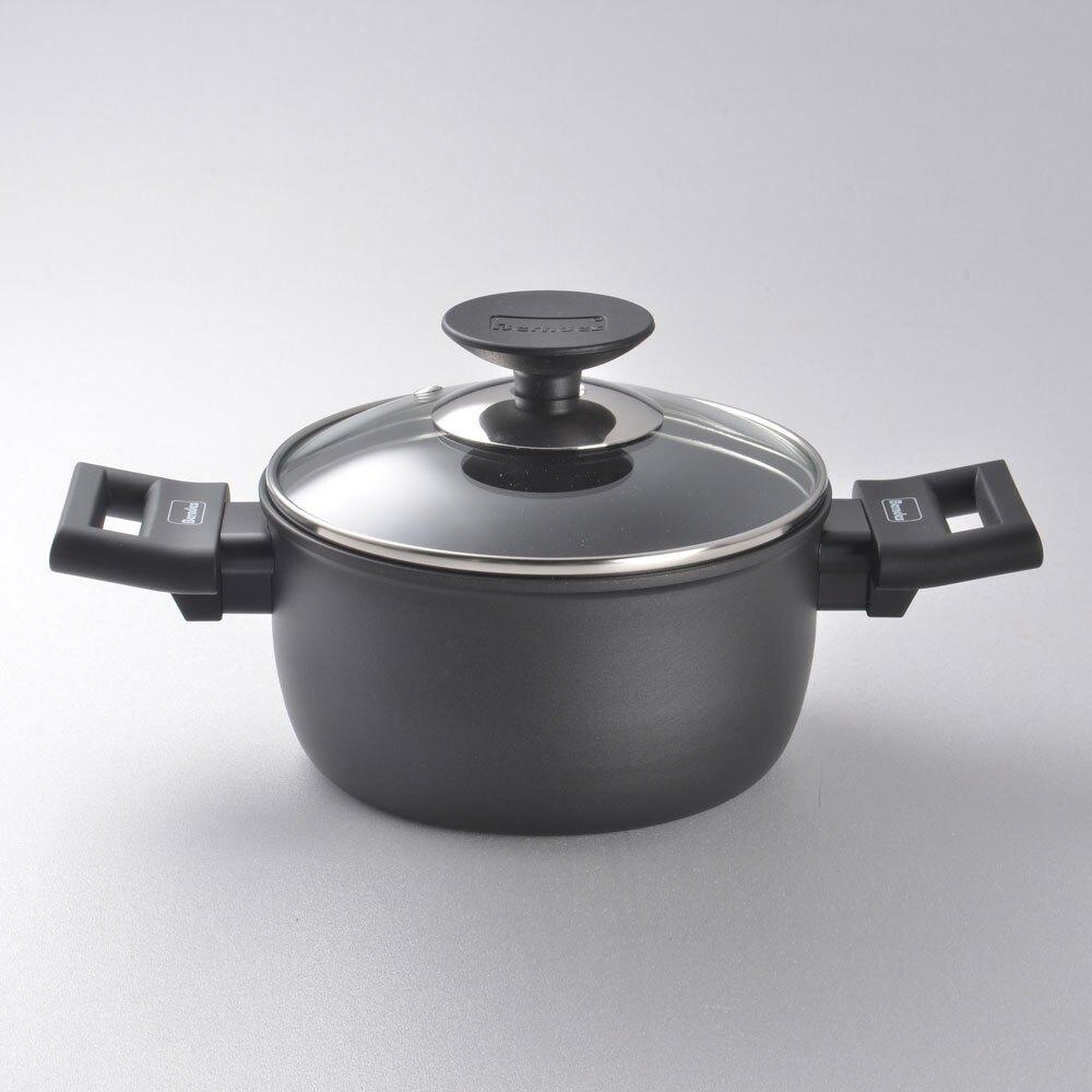 【德國Berndes 寶迪鍋】Alu 特別版 雙耳湯鍋 含蓋 不沾鍋 深鍋 16cm(德國寶迪 寶迪不沾)