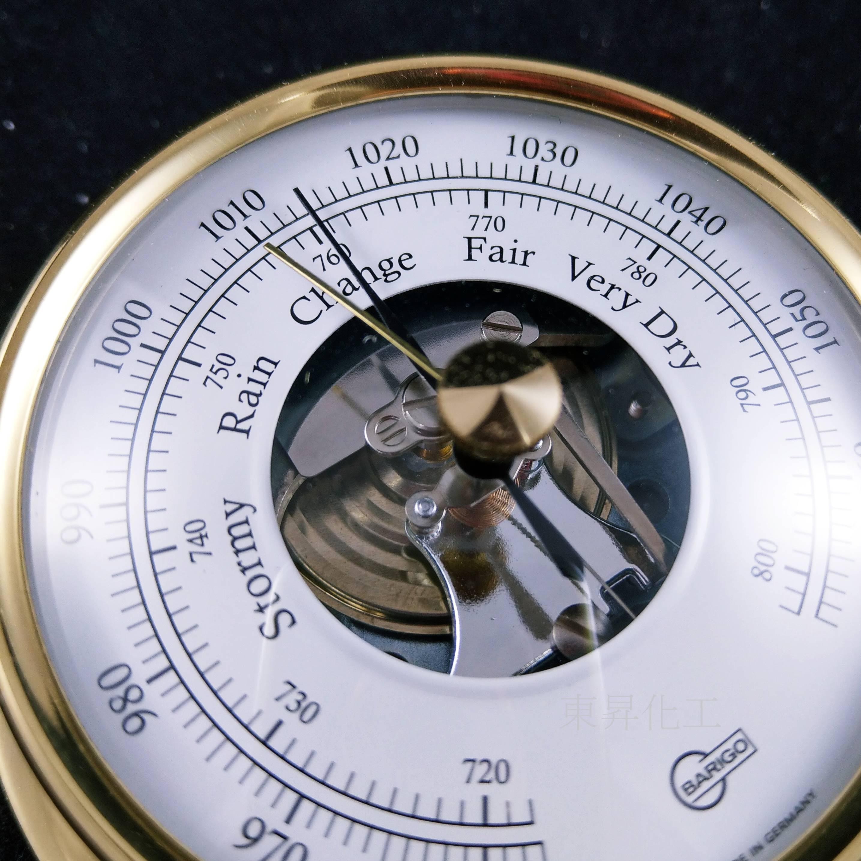 [東昇]BARIGO銅製空盒大氣壓計1710MS