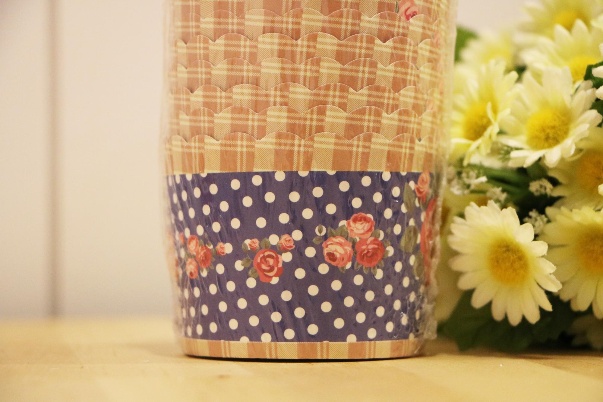 凡爾賽玫瑰(藍)-馬芬蛋糕紙杯(25入)