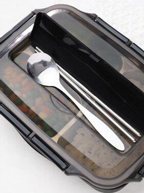 便當盒 飯盒便當分隔型學生上班族餐盤分格小保溫日式不銹鋼餐盒套裝 領券下定更優惠