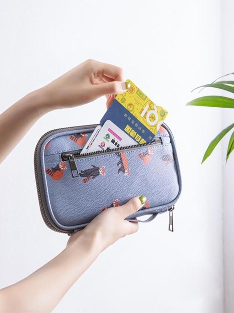 證件包護照機票收納包多功能旅行護照包男女保護證件包日本防水護照夾套霓裳細軟 清涼一夏钜惠