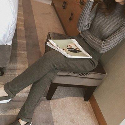 ☆哈倫褲 高腰休閒長褲-時髦自信俐落大氣女褲子2色72au6【獨家進口】【米蘭精品】