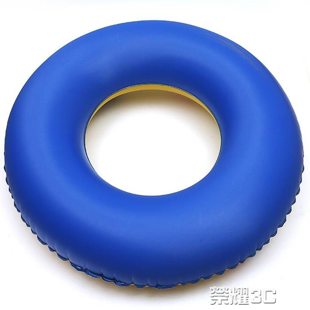 免運 救生圈 訓練浮圈加厚游泳圈成人大男女通用充氣游泳救生圈成人腋下圈