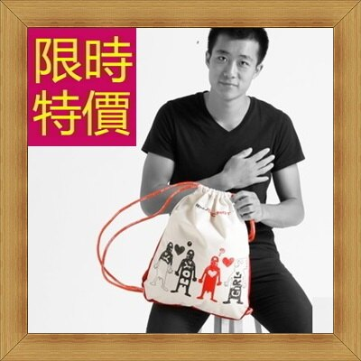 ☆束口袋 男女雙肩包 -正韓流行時尚潮流後背包56q16【韓國進口】【米蘭精品】