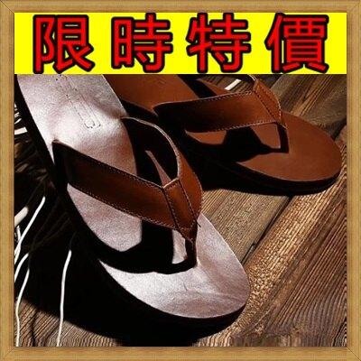 ★拖鞋人字拖-時尚個性流行休閒男夾腳拖2色58s39【獨家進口】【米蘭精品】