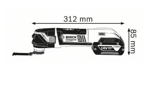 德國BOSCH 博世 GOP 18V-28 鋰電 無刷魔切機 磨切機 切割機 免碳刷EC 六檔速度可調